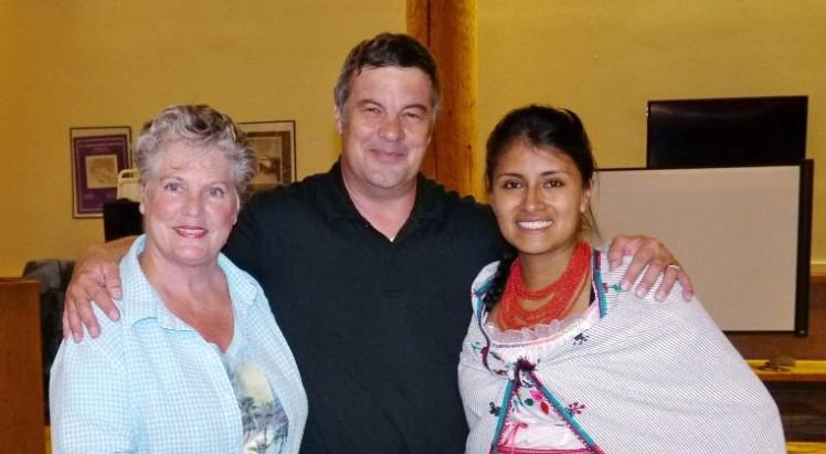 Suzanne, Rick & Paola