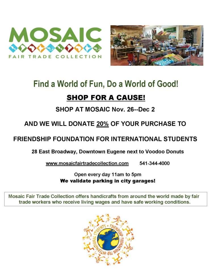 FFIS Fundraiser at Mosaic