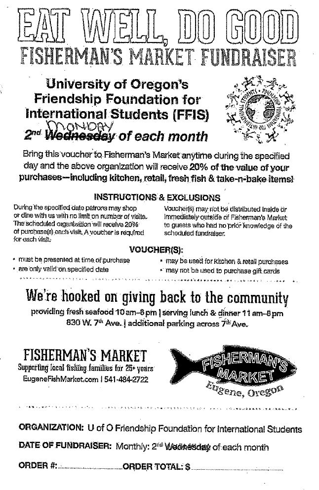 Fisherman's Market Fundraiser