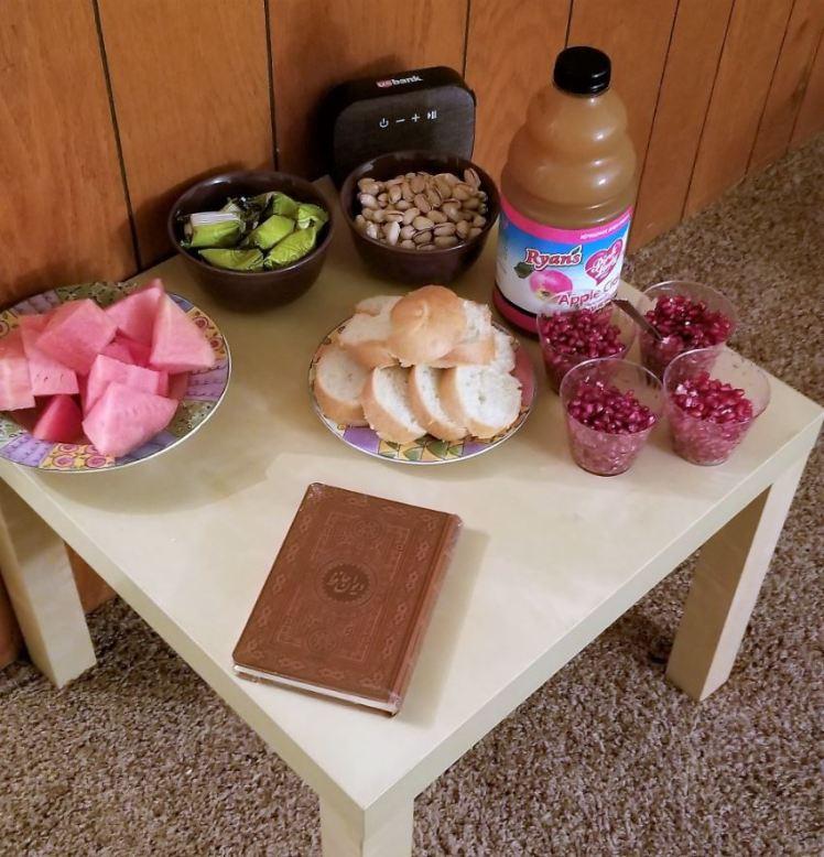 Iranian Meal