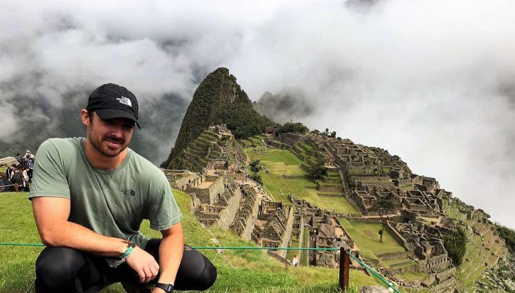 Skye in Machu Picchu